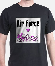 Unique Air force bride T-Shirt