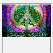 Tree of Life World Peace Yard Sign