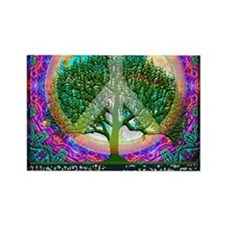Tree of Life World Peace Magnets
