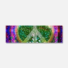 Tree of Life World Peace Car Magnet 10 x 3