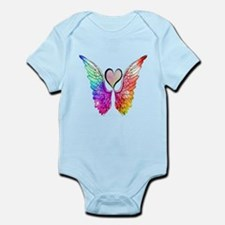 Angel Wings Heart Body Suit