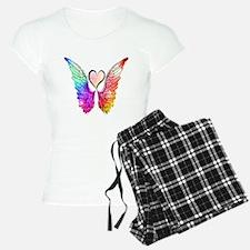 Angel Wings Heart Pajamas
