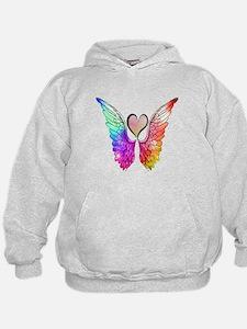Angel Wings Heart Hoodie