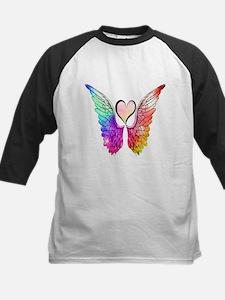Angel Wings Heart Baseball Jersey