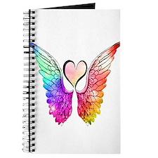 Angel Wings Heart Journal
