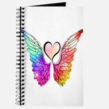 Angel Wings Heart Journal