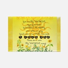 Sunshine Song Magnets