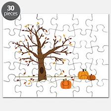 Fall Pumpkins Puzzle