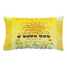 Sunshine Song Pillow Case
