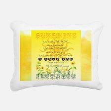 Sunshine Song Rectangular Canvas Pillow