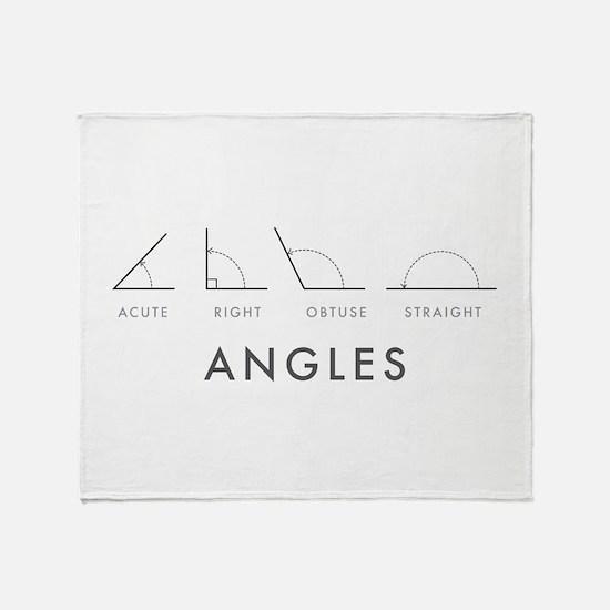 Angles Throw Blanket