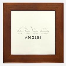 Angles Framed Tile