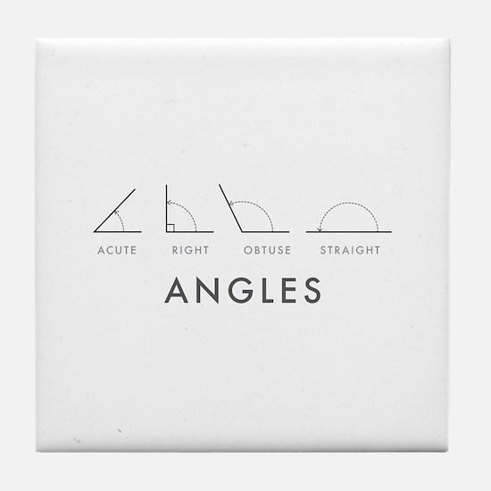 Angles Tile Coaster