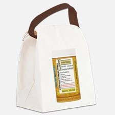 Happiness is the Best Medicine - Canvas Lunch Bag