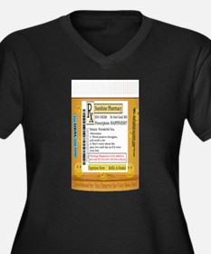 Happiness is the Best Medicine - Plus Size T-Shirt