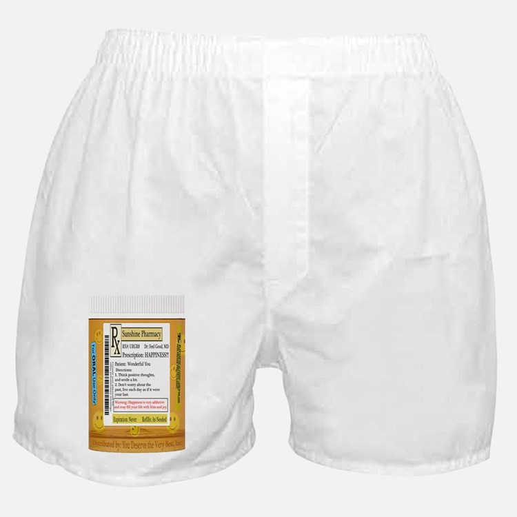 Happiness is the Best Medicine - Dr F Boxer Shorts
