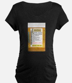 Happiness is the Best Medicine - Maternity T-Shirt