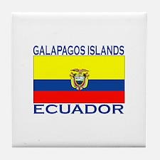 Galapagos Islands, Ecuador Tile Coaster