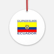 Galapagos Islands, Ecuador Ornament (Round)