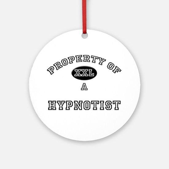 Property of a Hypnotist Ornament (Round)