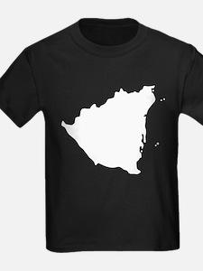 Nicaragua Silhouette T-Shirt