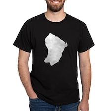 French Guiana Silhouette T-Shirt