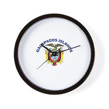 Galapagos Islands, Ecuador Wall Clock