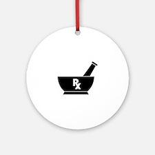 Pharmacist Round Ornament