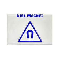 Girl Magnet Rectangle Magnet