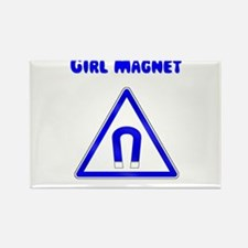 Girl Magnet Rectangle Magnet