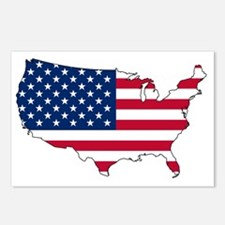 Unique Best selling god bless america Postcards (Package of 8)