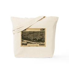 Tuscaloosa Antique Map Tote Bag