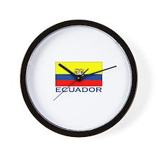 Ecuador Wall Clock