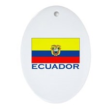 Ecuador Oval Ornament