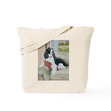 Black Springer Abby Tote Bag