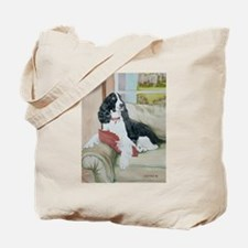 Black Springer Abby Tote Bag