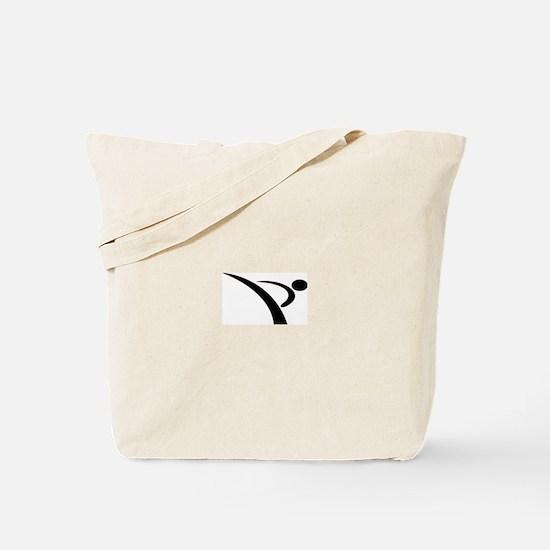 Karate Kick Tote Bag