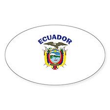 Ecuador Oval Decal
