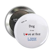 Dog Lick Button