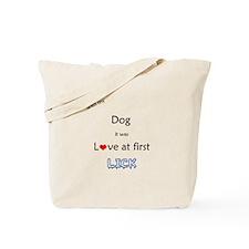 Dog Lick Tote Bag