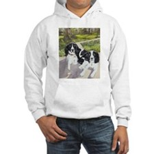 2 Black Springers Hoodie Sweatshirt