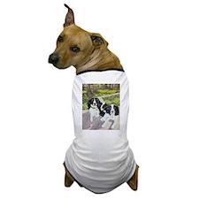 2 Black Springers Dog T-Shirt