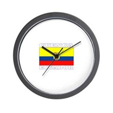 Cuenca, Ecuador Wall Clock