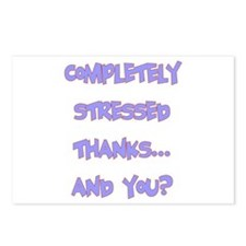 completely stressed Postcards (Package of 8)