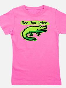 Funny Crocodile Girl's Tee