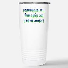 Funny Lefty Travel Mug