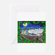 Funny New orleans christmas Greeting Card