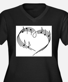 Music Lover Plus Size T-Shirt