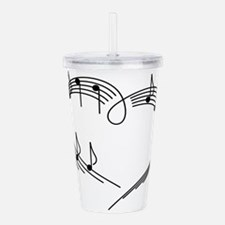 Music Lover Acrylic Double-wall Tumbler