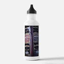 Cute Art photography. door county Water Bottle